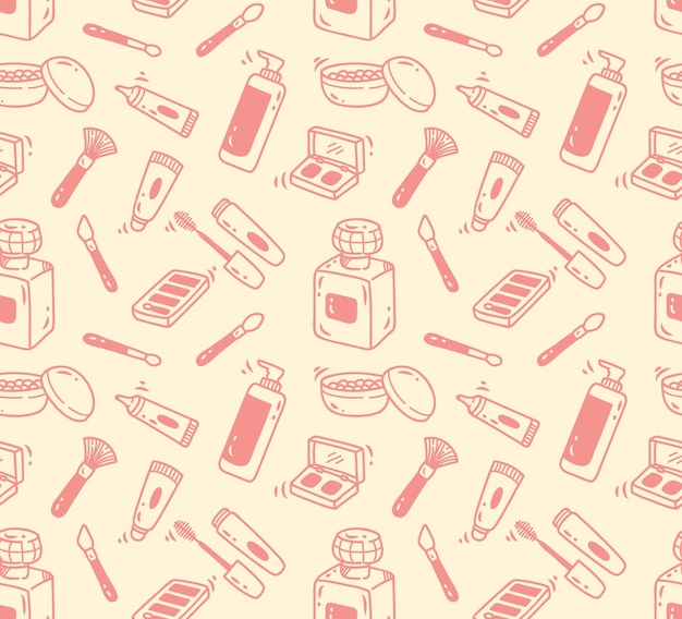 Make up tools seamless background
