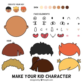 Make your kid character