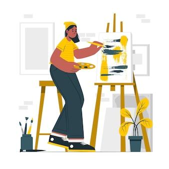 Создание иллюстрации арт-концепции