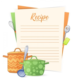 요리 레시피 만들기.