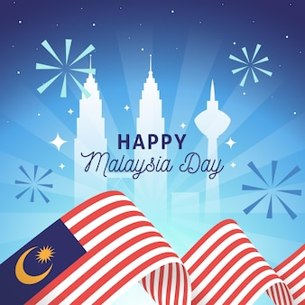 Malaysia day concept