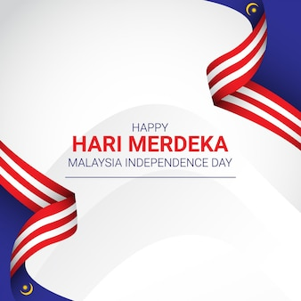 Malaysia independence day template