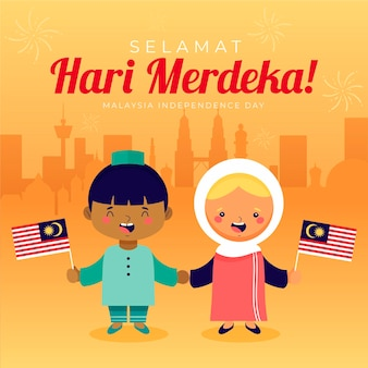 Malaysia independence day  theme