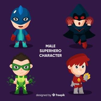 Мужской комический супергерой