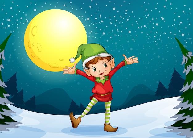 Un elfo maschio