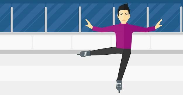 Male figure skater