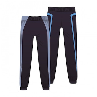 Male fitness pants