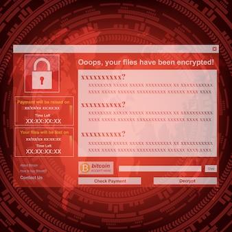 Malware ransomware virus