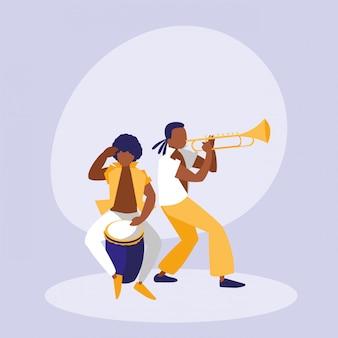 Mambo band avatar character