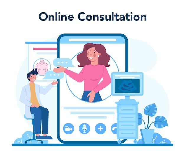 Mammologist online service or platform