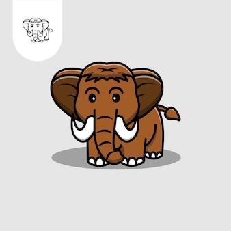 マンモスのロゴ