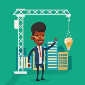 Человек, имеющий бизнес-идею