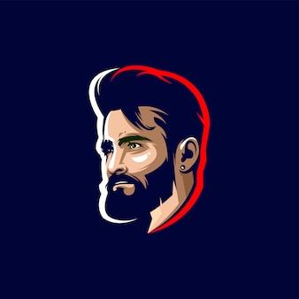 Man head logo