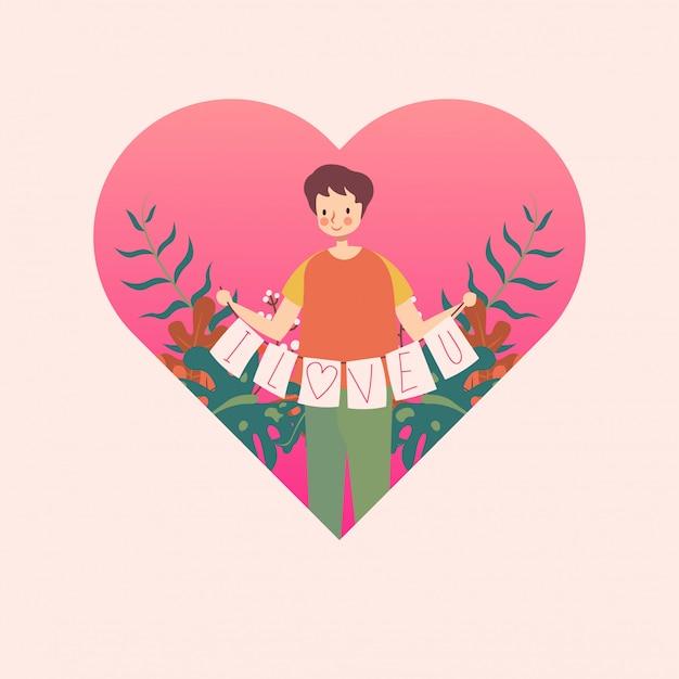 Человек в сердце