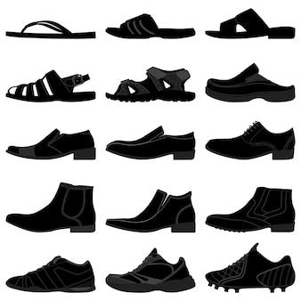 男性男性男性靴靴。