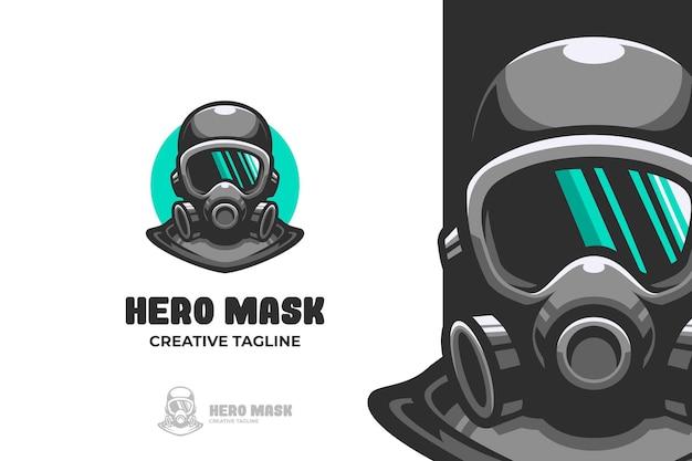 マンウェア呼吸マスクマスコットロゴ