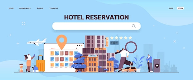 돋보기 여행 책 티켓 및 호텔 객실 아파트 예약 서비스 전송 교통 여행 남자