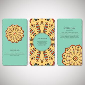 観賞用カード、花man羅のチラシのセット