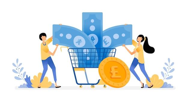 소비와 지출을위한 재정 관리
