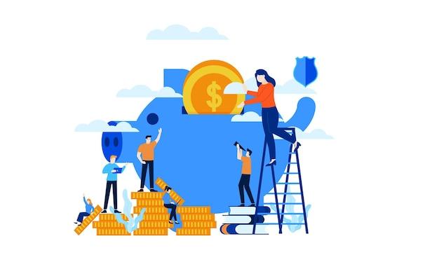 Manage finances save