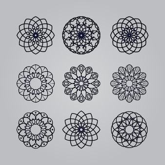 Mandala art ornament  floral  ethnic