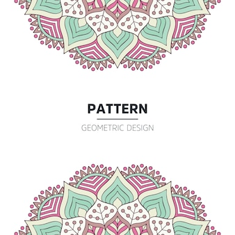 Mandala background design