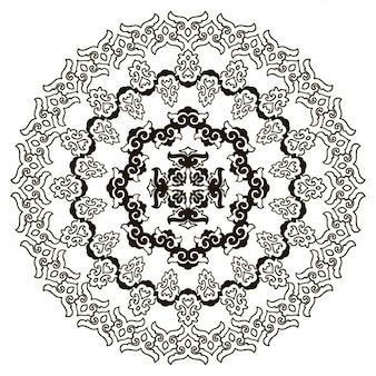 Disegno di sfondo mandala