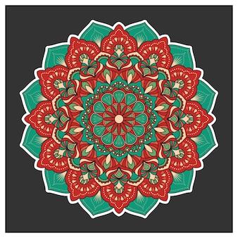 Mandala background design