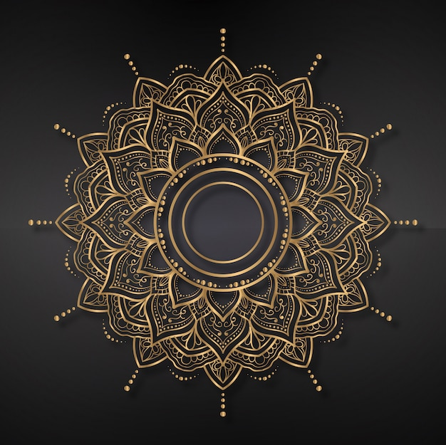 Mandala background, ornament, background
