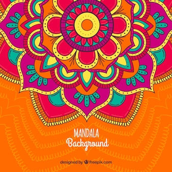 Mandala background with great colors