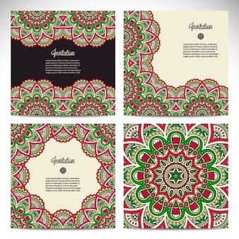 Mandala backgrounds collection