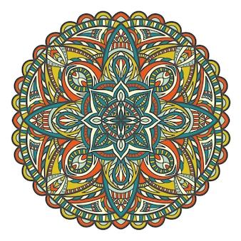 Mandala in bohemian style