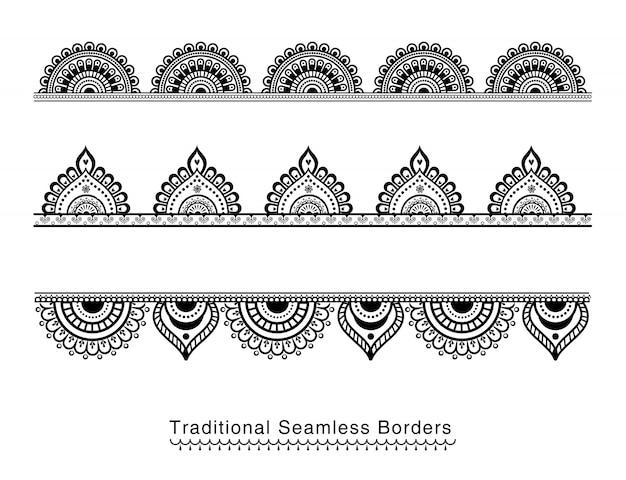 Mandala borders