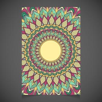 Mandala card design