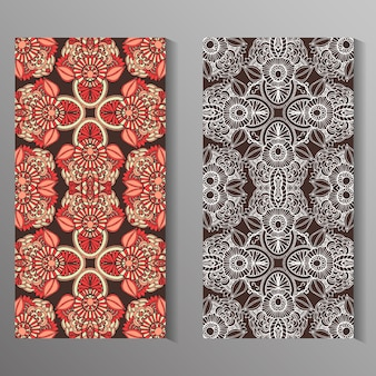 Mandala cards design