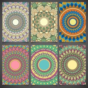Mandala cards set