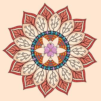 Mandala decorative icon