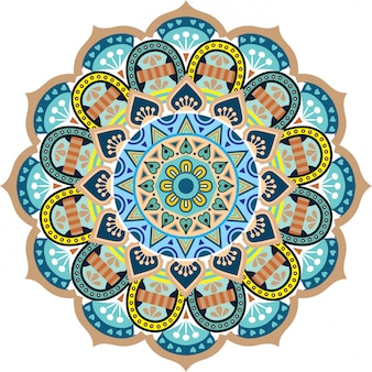 Mandala floral flower oriental pattern vector illustration islam arabic indian turkish pakistan ottoman motifs