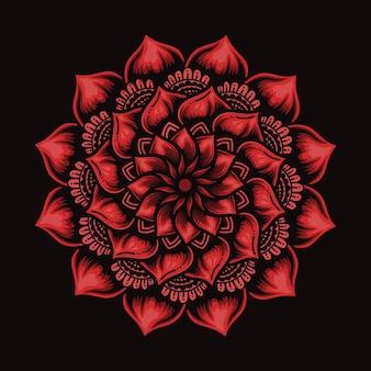 Цветы мандалы
