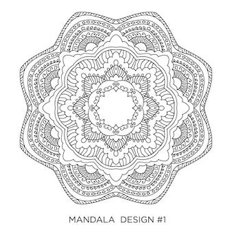 Дизайн мандалы