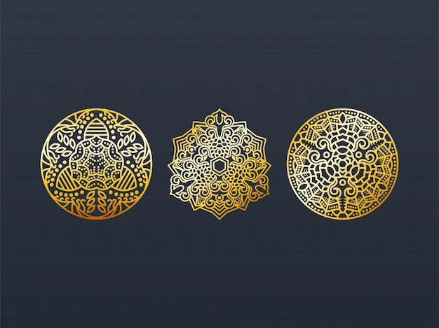 Mandala gold pack.