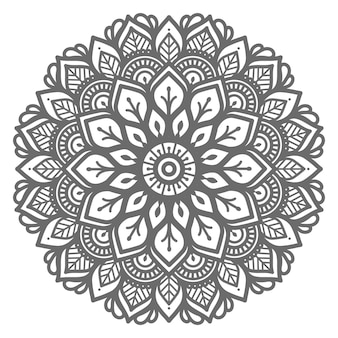 Mandala illustration for abstract and decorative concept