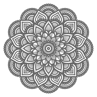 Mandala illustration with circle style for abstract background