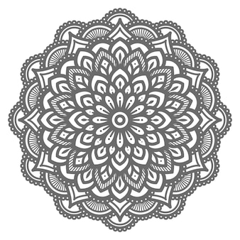 Mandala illustration with ethnic oriental style