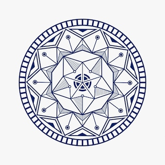 Mandala lotus design inspiration