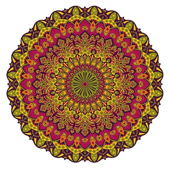 Mandala ornament.