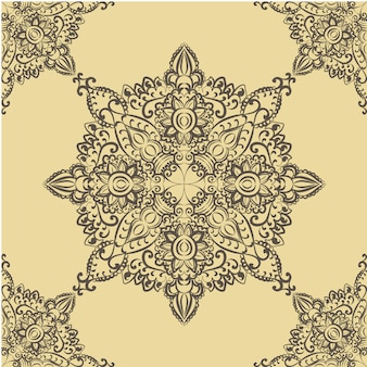 Mandala sfondo ornamentale