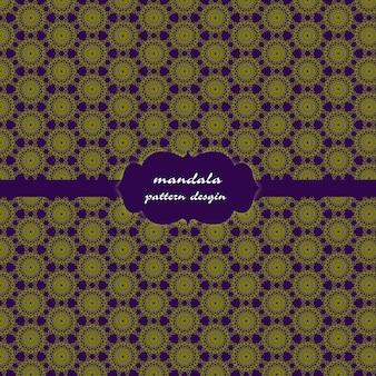 マンダラパターンの背景