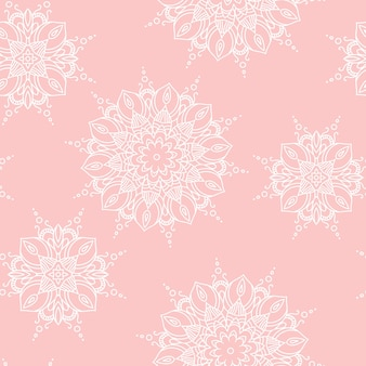 Mandala pattern. hand drawn ethnic decorative texture vector illustration eps 10 for your design.