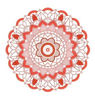Mandala patterns on white